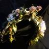 ободок Фиона, цветы из шелка, цветы из ткани. цветы из шелка ручной работы. шелковая флористика