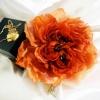 шелковый цветок, цветы из ткани, цветы из шелка
