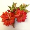 цветы из шелка, шелковые цветы