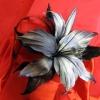 ободок с лилией
