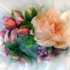 цветы ручной работы, цветы ручной работы из шелка