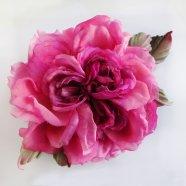 цветок из шелковой ткани