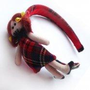 ободок  с куколкой