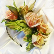 роза, розы из шелка. розы из ткани, цветы из шелка
