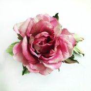 цветы из шелка, роза из шелка