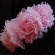 венок из роз ручной работы