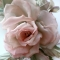 шелковые цветы на ободке