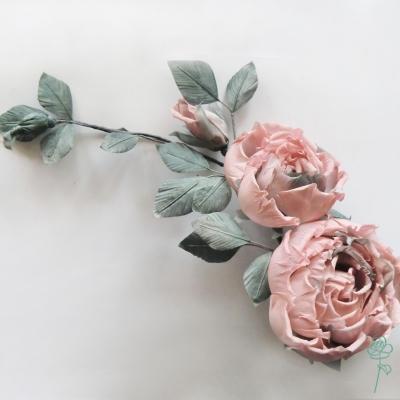 цветы из шелка. Розы